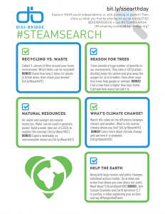 STEAMSearch Earth Day