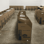 Lowe's volunteers assemble Summer STEAM Kits
